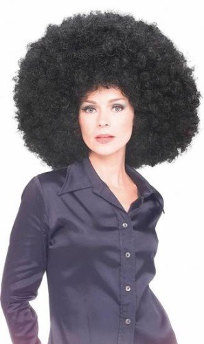 Rubie's Costume Co Oversized Afro Wig, Black, Standard