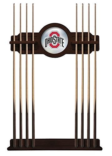 Holland Bar Stool Co. Ohio State Cue Rack in English Tudor Finish