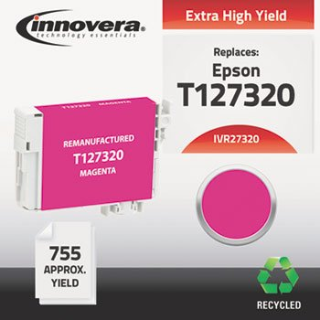 - 27320 Compatible Reman T127320 (T-127) Ink, 755 Page-Yield, Magenta