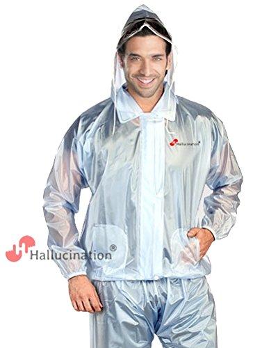 ec838be8b HALLUCINATION Biker's Rain PVC Coat Suit