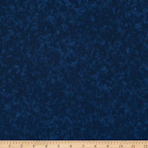 Santee Print Works 108 Wide Cotton Blenders Navy, Fabric by the Yard