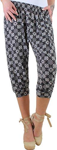 BD Mujer Stretch Pantalones Verano Playa Pantalones capri pumphose Plus Size übergröße hasta 5X l 8