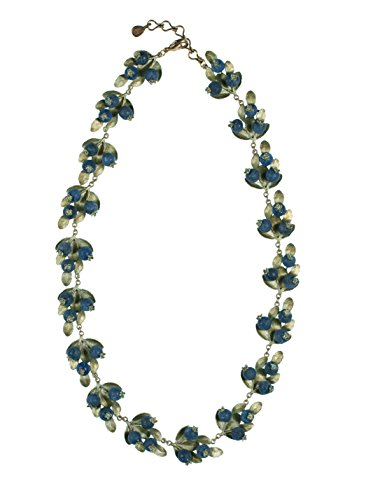 Blueberry Contour Necklace by Michael Michaud for Silver Seasons… by Michael Michaud
