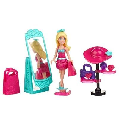 Mega Bloks Barbie Shop \'n Style: Toys & Games [5Bkhe1901011]