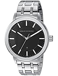 Armani Exchange AX1455 Street Watch, Men, Silver