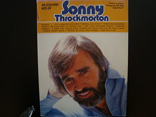 43 Country Hits By Sonny Throckmorton / Piano Vocal Guitar