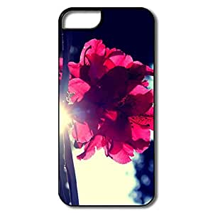 IPhone 5/5S Cases, Flower Sun White/black Cases For IPhone 5S