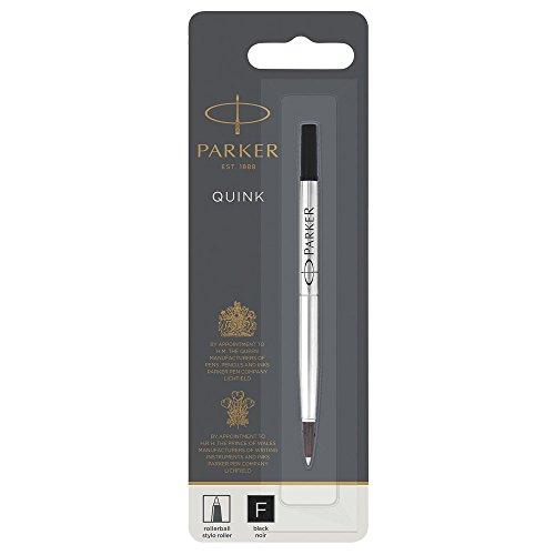 Parker Roller Ball Pen Refill - Parker Rollerball Pen Refill Fine Nib, Black
