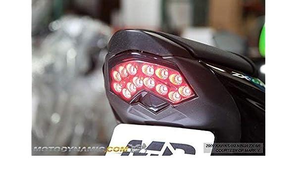 Amazon.com: Kawasaki Ninja ZX6 2008-2010 ZX10 2008-2010 ...