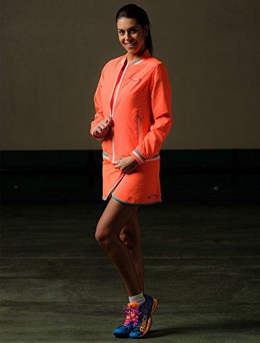 NOX Cortavientos Padel Neon Coral Woman: Amazon.es: Deportes y aire libre
