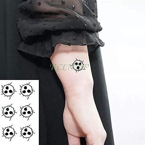 5pcs Impermeable del Tatuaje Pegatinas Copo de Nieve de la Hoja de ...