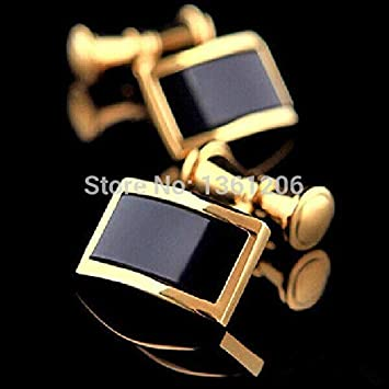 Vesna ST29-26-Wholesale and retail Foshion Look Top-Grade Plated Glass Cufflinks Men Gift Party Uesd Jewelry
