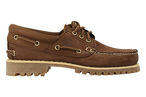 CA1JBR Dk Authentics Marron Timberland del Zapatos Brn Eye barco 3 xX67UqT
