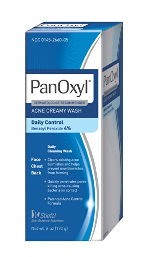 Panoxyl 4 Acne Creamy Wash, 6-Ounce