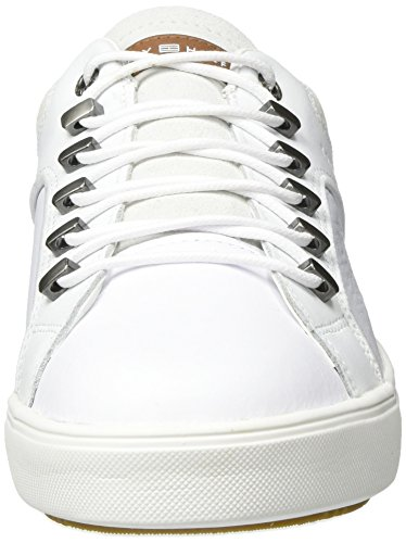 Hilfiger Baskets M2285Oon Blanc White Homme Basses Tommy 2A1 Oqvxzdww