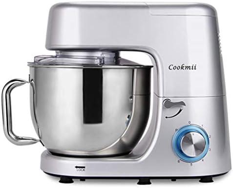 Cookmii 1800W Profesional Batidoras Amasadora Repostería, Robot de cocina Automática Multifuncional, Amasadora de Bajo Ruido para Repostería Alta potencia Amasadora con Recipiente de 7,2L: Amazon.es: Hogar