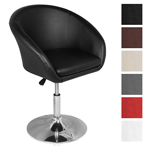 Homelux-Lounge-Sessel-Clubsessel-Kunstleder-Hhenverstellbar-Farbwahl-Polstersessel-Drehsessel-Barhocker-Drehstuhl-Barstuhl-Retrosessel-Cocktailsessel