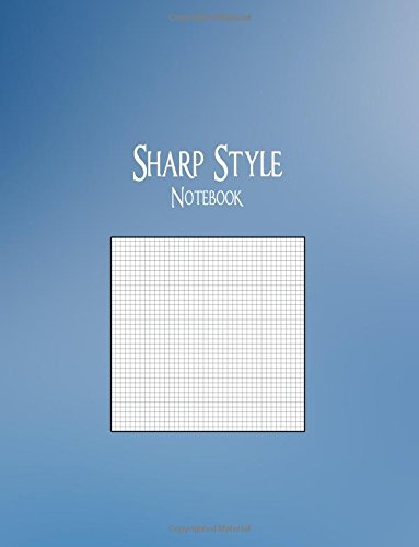 "Sharp Style Notebook: 1/10"" Graph Ruling, 128 Pages ebook"