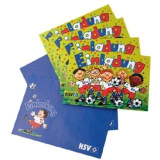 Hamburger SV HSV Einladungskarten 8er Set