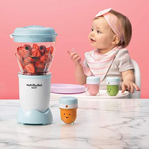 41hcHknyRjL. AC - NutriBullet NBY-50100 Baby Complete Food-Making System, 32-Oz, Blue