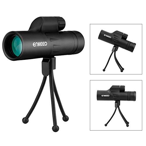 Enkeeo 8X30 Compact Monocular for Bird Wildlife...