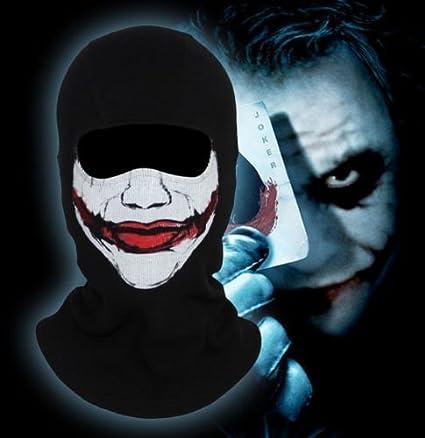 amazon com clown thriller balaclava scary joker halloween cosplay