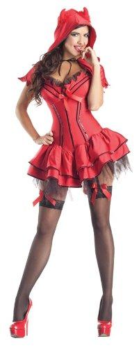 Devil (Female Devil Costume Makeup)