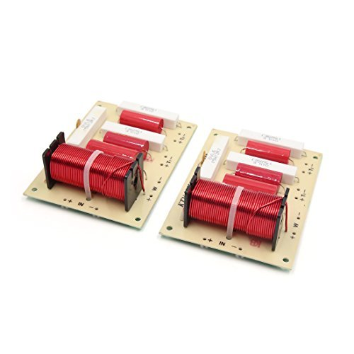 - EbuyChX 2pcs Speaker Audio Frequency Divider 2 Way Crossover Filter 250W