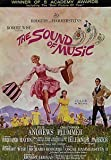 """""""THE SOUND OF MUSIC"""" - Julie Andrews - Classic Movie Poster - Poster Size : A4"""