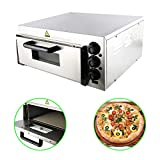 HYDDNice 110V 2000W Commercial Pizza Oven Stainless