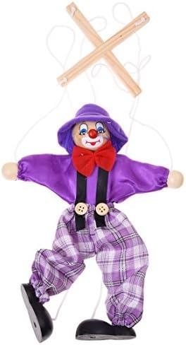 JVSISM 1件子供の人形ピエロのおもちゃ - 色はランダム