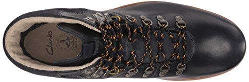 Clarks Padley Alp Gtx Boot Dark Blue Leather