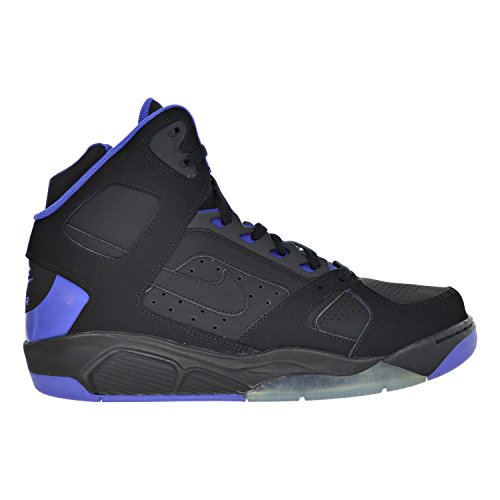 cd1a6c58ee95f NIKE Air Flight Lite High Men's Shoes Black/Persian Violet 329984-006