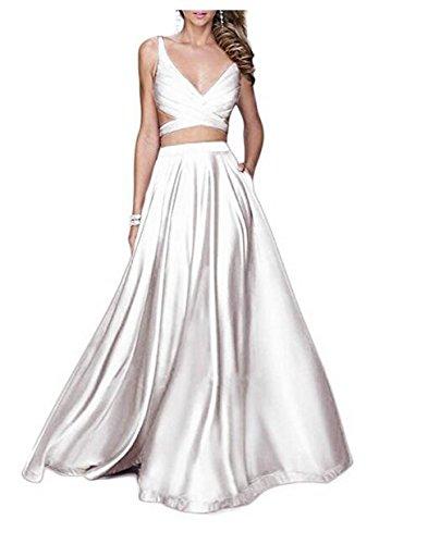 of Beauty Kleid the Weiß Leader Damen dxUzgdwn