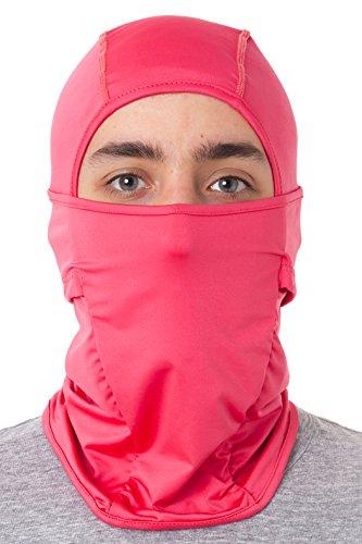 D2D Premium Balaclava - Multipurpose Full Face Color Mask - Outdoor Protection Ski Fleece - List Activities Summer