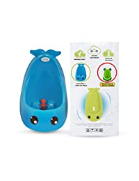 Cuddle Baby Generation II Boy Urinal Potty Toilet Training with FREE Potty Training Game (Bright Blue Whale) BOBEBE Online Baby Store From New York to Miami and Los Angeles