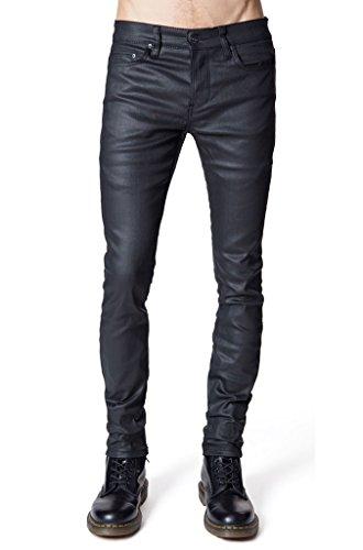 Lip-Service-Men-Waxed-Gothic-Rocker-Biker-Skinny-Jeans-Pants