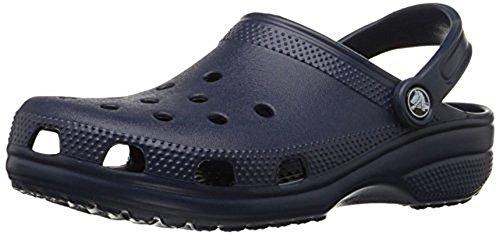 最好的交易 Crocs Adult Classic Clogs Navy-410 Blue