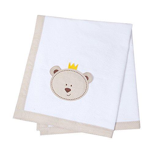 Cobertor, Papi Textil, Branco, 1.10Mx90Cm