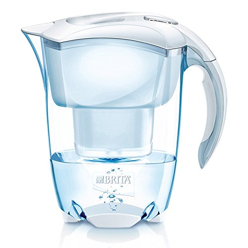 BRITA Elemaris Cool 2.4L with 1 Filter WHITE --From JAPAN-- NEW!! (Brita Oceania Pitcher compare prices)