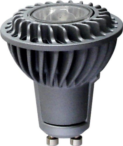 - GE Lighting 26346 Energy Smart LED 5.5-Watt (50-watt replacement) 380-Lumen PAR16 Floodlight Bulb with GU10 Base, Bright White, by GE Lighting