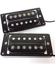 YAOHM Nueva Guitarra eléctrica Wilkinson Humbucker Pickups-WHB (Cuello y Puente) imán Alnico 5 Base de Cobre y níquel