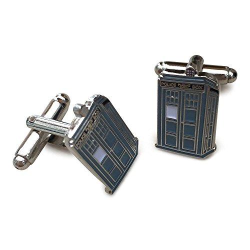 The Doctor Tardis Cufflinks