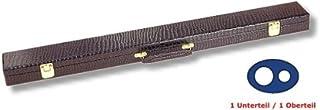 'Custodia 'coccodrillo per stecca 1parte inferiore/parte superiore 1colore nero Winsport