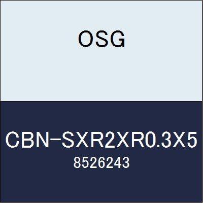 OSG エンドミル CBN-SXR2XR0.3X5 商品番号 8526243
