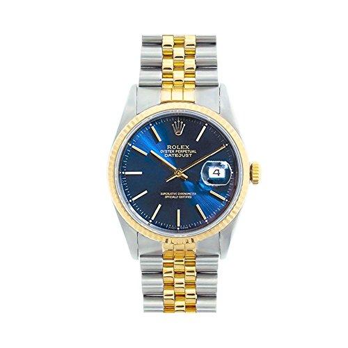 Rolex Datejust swiss-automatic mens Watch 16013 (Certified (Rolex Datejust)