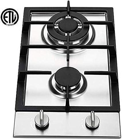 Amazon.com: Ramblewood GC2-37P - Placa de cocina de gas de ...