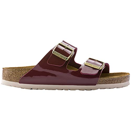 Birkenstock Unisex Arizona Birko-Flor Bordeaux Sandals 7 W / 5 M ()