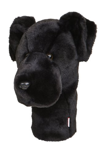 Daphne's Black Lab Headcovers - Dog Club Headcover Golf