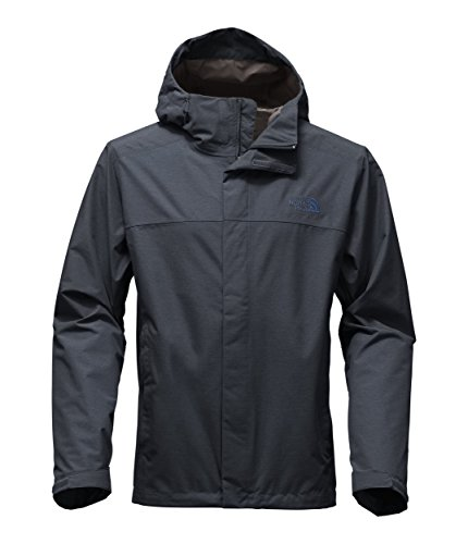 Mens North Face Denali Jacket - The North Face Men's Venture 2 Jacket - Urban Navy Heather & Urban Navy Heather - M